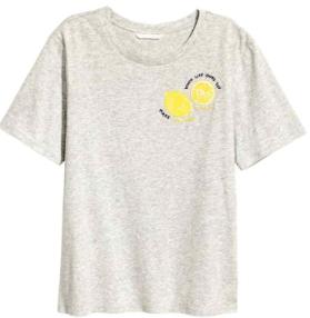 HM Tshirt Lemonade