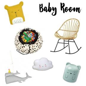 Moodboard Baby Room