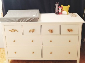 DIY commode kid's room