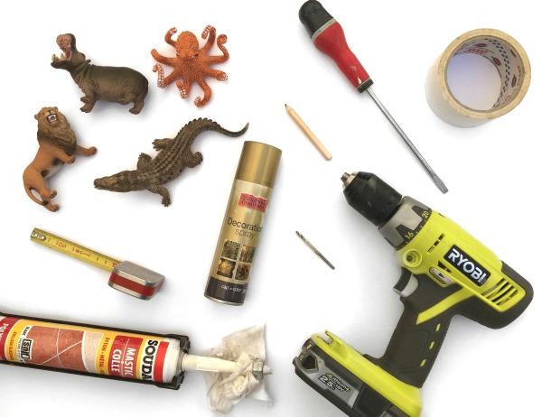 Materiel DIY commode enfant