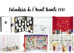 Sélection Calendrier de l'Avent Beauté2016