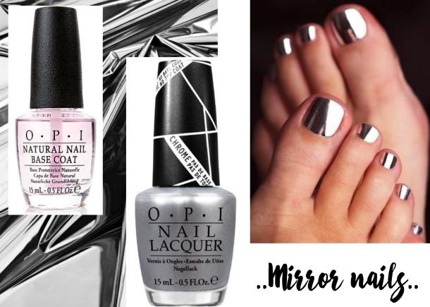 manicure argent, manicure silver, manicure chrome, manicure metallic, nail art facile