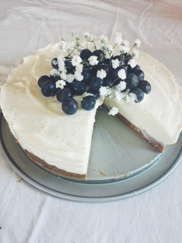 Recette trop bonne du cheese cake sans cuisson