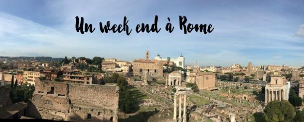 Un week end à Rome