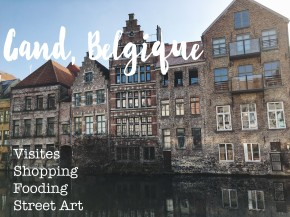 Un Week-end à Gand, Belgique