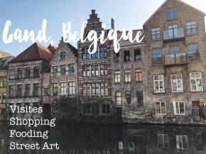 Un Week-end à Gand,Belgique