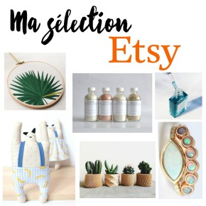 Ma sélection shopping Etsy