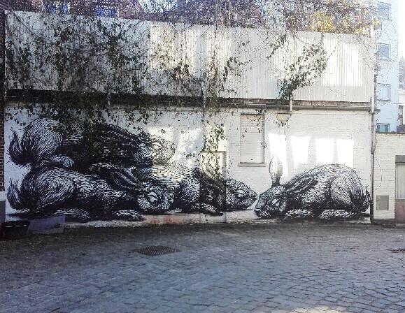 Roa Street Art Gand