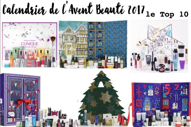 Top 10 Calendrier de l'Avent Beauté 2017