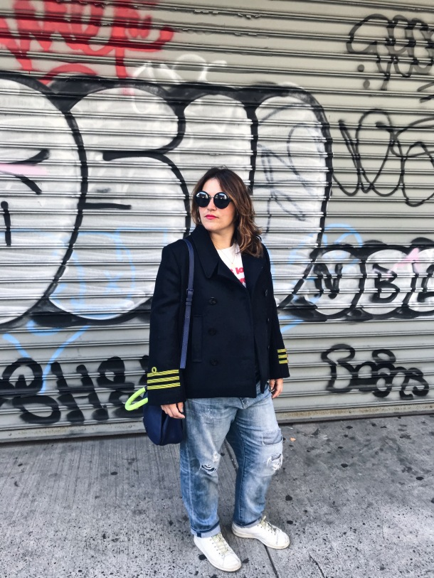 Streetstyle New-York, French style, Cookbook New York, Balenciaga, Mode, Tenue du jour, Anaïs Dingler, Soho, Look du jour