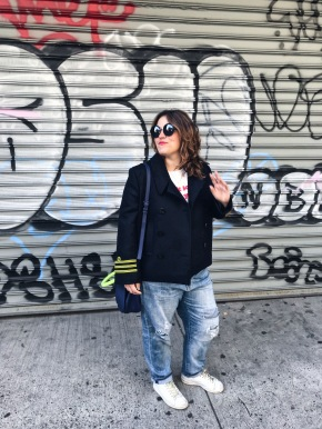 Look #3 Streetstyle à Soho,NY