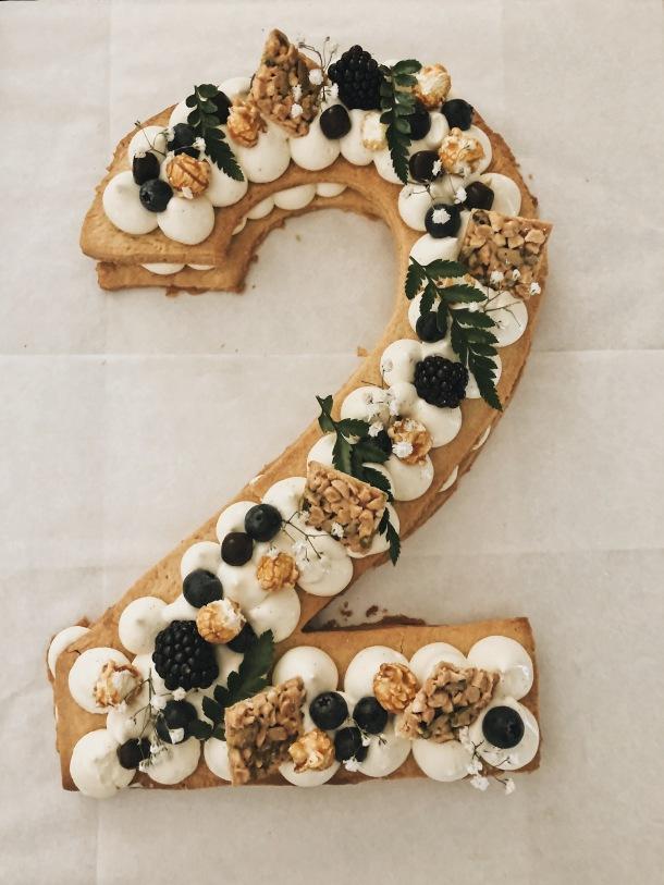 Recette cake number, cake number facile, cake number anniversaire